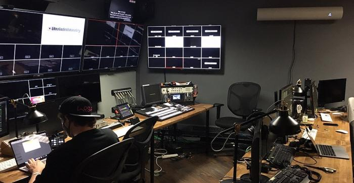 Video Broadcast Control Room